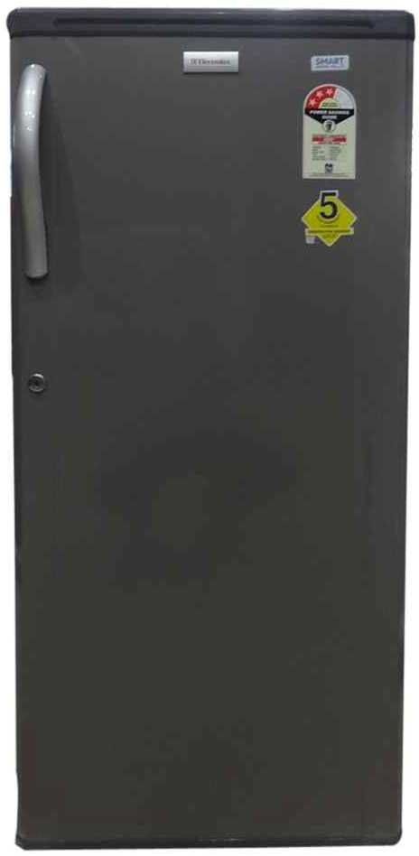 Best price on Electrolux EBE203 190Litres 3S Single Door Refrigerator (Silk Grey)  in India