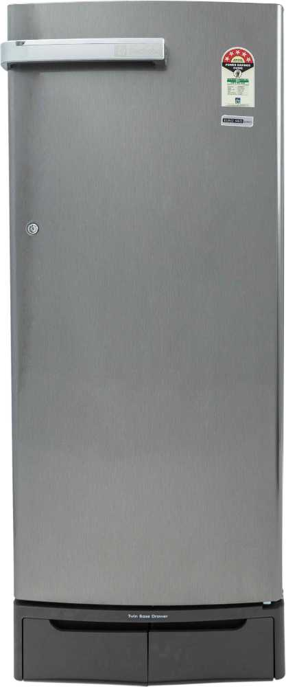 Best price on Electrolux Euro Neo EN255LSCSV 245Ltr 5S Single Door Refrigerator in India