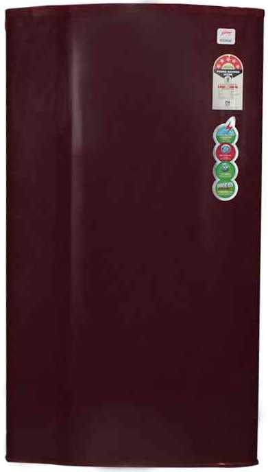 Best price on Godrej RD Edge 185 CW 185Litre 5S Single Door Refrigerator  in India