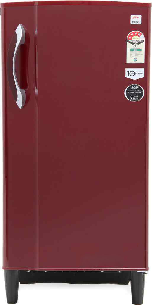 Best price on Godrej RD EDGE 185 E2H 4.2 185 L Single Door Refrigerator in India