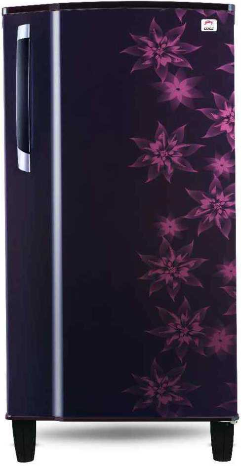 Godrej RD EDGE 185L CHTM 4.2 4S Direct-cool Refrigerator (Berry Bloom)