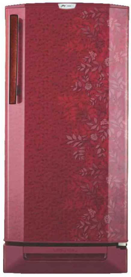 Best price on Godrej RD Edge Pro 190 CT 5.2 190 L 5S Single Door Refrigerator (Lush Wine)  in India