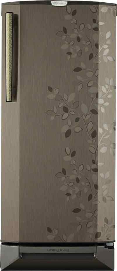 Best price on Godrej RD Edge Pro 190 PDS 5.2 (Carbon Leaf) 190L Single Door Refrigerator in India