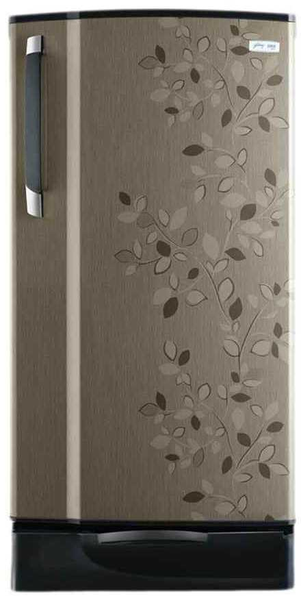 Best price on Godrej RD Edge Sx 185 PDS 4.2 185 Litres Single Door Refrigerator (Carbon Leaf)  in India