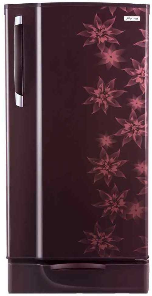 Best price on Godrej RD Edge SX 185 PDS 4.2 185 Litre (Berry) Single Door Refrigerator  in India