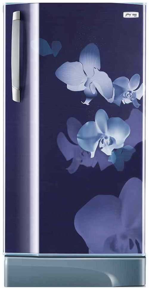 Best price on Godrej RD Edge SX 221 CT 5.2 (Indigo Orchid) 221 Litres Single Door Refrigerator  in India