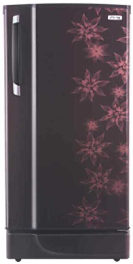 Best price on Godrej RD Edge SX 221 CT 5.2 221 Litres 5S Single Door Refrigerator (Berry Bloom)  in India