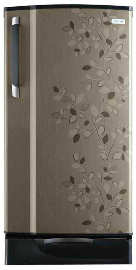 Best price on Godrej RD Edge SX 221 PDS 5.2 221 Litres (Carbon Leaf) Single Door Refrigerator  in India