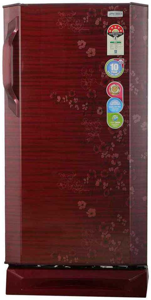 Best price on Godrej RD EDGEZX 195 CTS 5.2 195 Litres Single Door Refrigerator (Flora)  in India