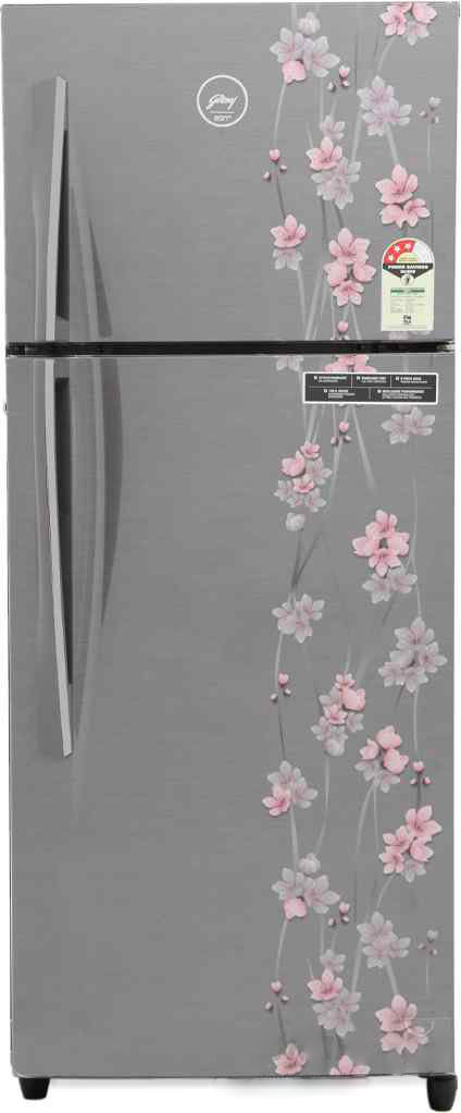 Best price on Godrej RT EON 261 P 3.4 3S (Silver Meadow) 261 Litres Double Door Refrigerator in India