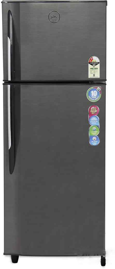 Best price on Godrej RT EON 260 P 2.4 260L 2S (Silver Strokes) Double Door Refrigerator in India