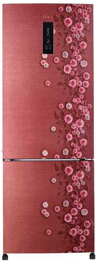 Best price on Haier HRB-3654PSL-H/R 345 Litres Double Door Refrigerator (Liana)  in India