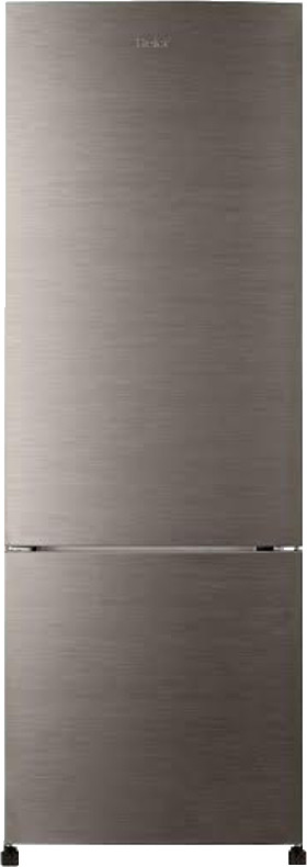 Best price on Haier HRB-3403BS 320 Litres 3 Star Double Door Refrigerator (Brush Line) in India