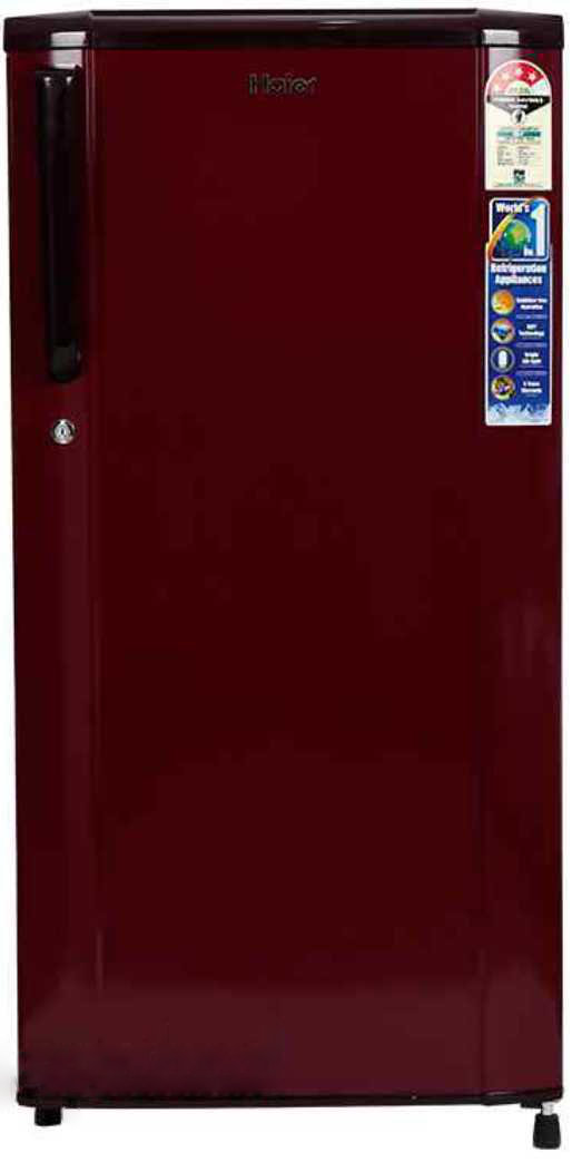 Best price on Haier HRD-2105CBS-H 181 Litres Single Door Refrigerator  in India