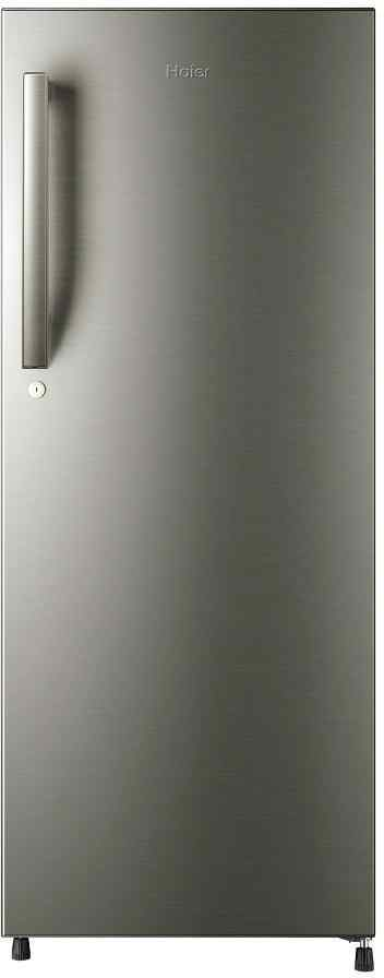 Best price on Haier HRD-2406BS/R-H 220 Litres Single Door Refrigerator in India