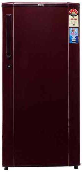 Best price on Haier HRD-1905BR 170 Litres Single Door Refrigerator  in India