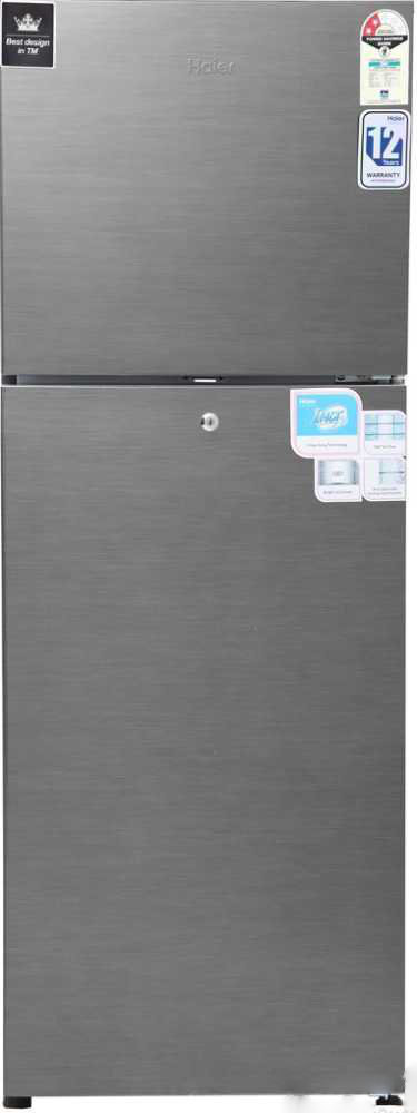 Best price on Haier HRF-2672BS-H 247 Litres 2S Double Door Refrigerator in India