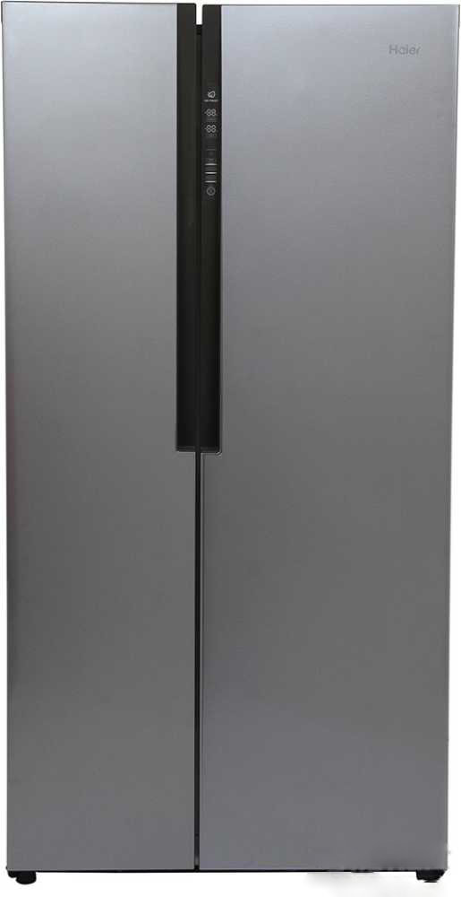 Best price on Haier HRF 618 SS 565 Litres Side by Side Door Refrigerator in India