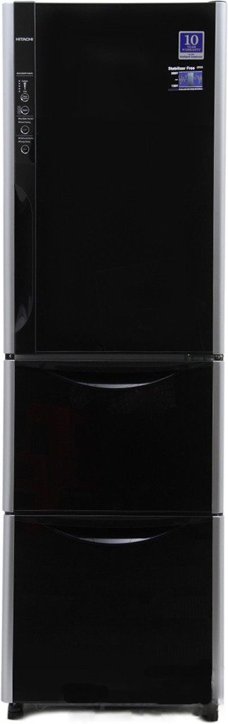 Best price on Hitachi R-SG31BPND-GS/GBK 336Litres Double Door Refrigerator in India