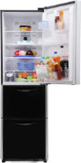 Best price on Hitachi R-SG37BPND-GS/GBK 390Litres 4S Triple Door Refrigerator - Back in India