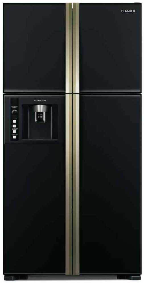 Best price on Hitachi R-W660PND3GBK/GGR 586Ltr Side-By-Side Door Refrigerator  in India