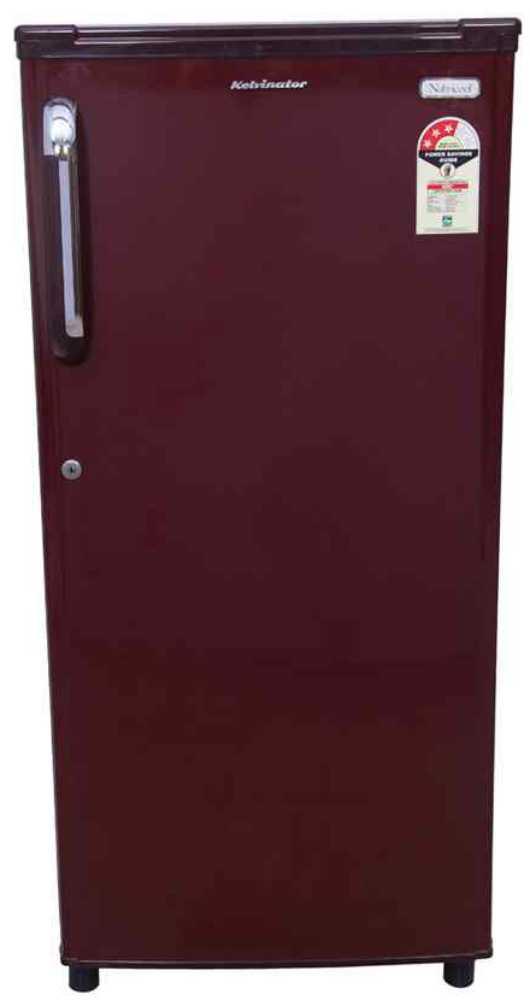 Best price on Kelvinator KWE203/EBR/EMH/ESH 190 Litres 3S Single Door Refrigerator  in India