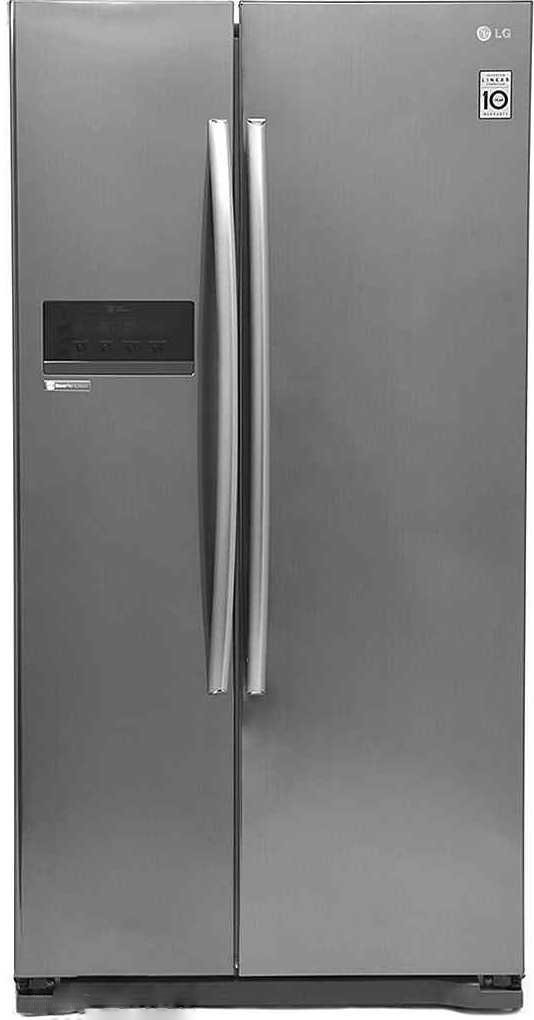 Best price on LG GC-B207GLQV/GSQV/GAQV 581 Litres Side By Side Door Refrigerator in India