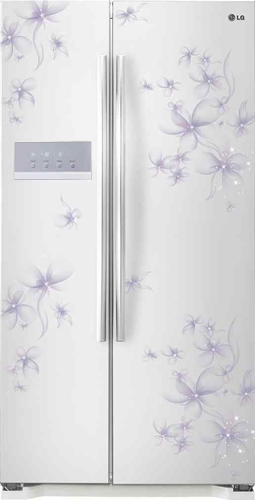 Best price on LG GC-B207GPQV 581 Litres Double Door Refrigerator (Daffodil) in India