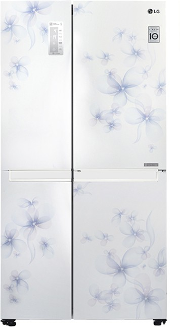 Best price on LG GC-B247SCUV 687 Ltr Side by Side Refrigerator in India