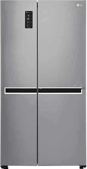 Best price on LG GC-B247SLUV 687 Ltr Side by Side Refrigerator in India