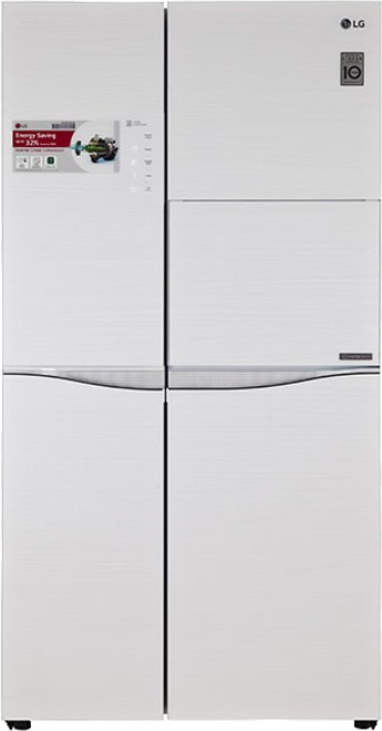 Best price on LG GC-C237JGGV 675 L 3S Side by Side Refrigerator in India