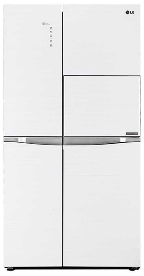 Best price on LG GC-C247UGUV 675L Side-By-Side Refrigerator (Aria White)  in India