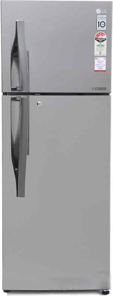 Best price on LG GL-I302RPZL 284L Frost Free Double Door Refrigerator in India