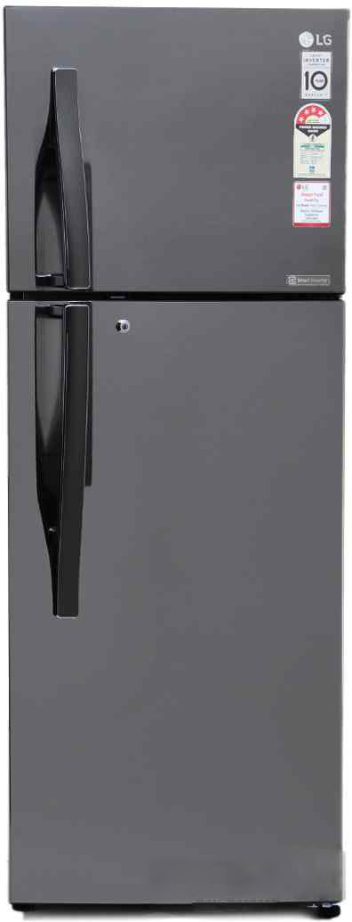 Best price on LG GL-I302RTNL 284 Litre Double Door Refrigerator in India