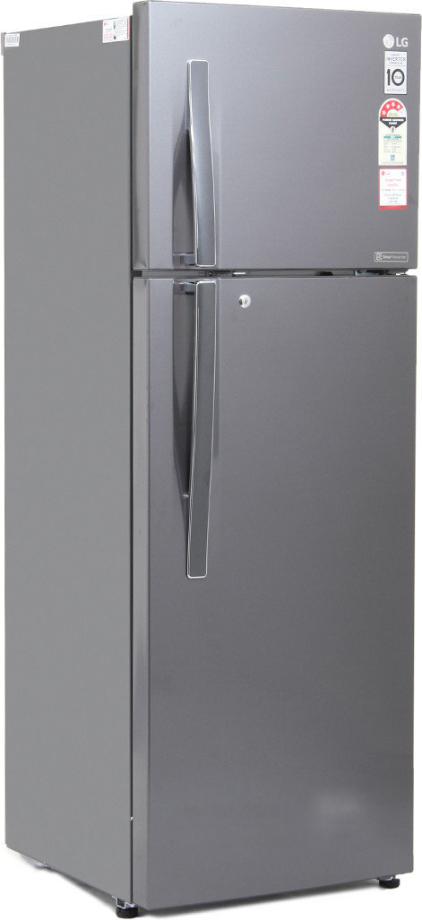 Best price on LG GL-I322RTNL 308 Litre Double Door Refrigerator in India