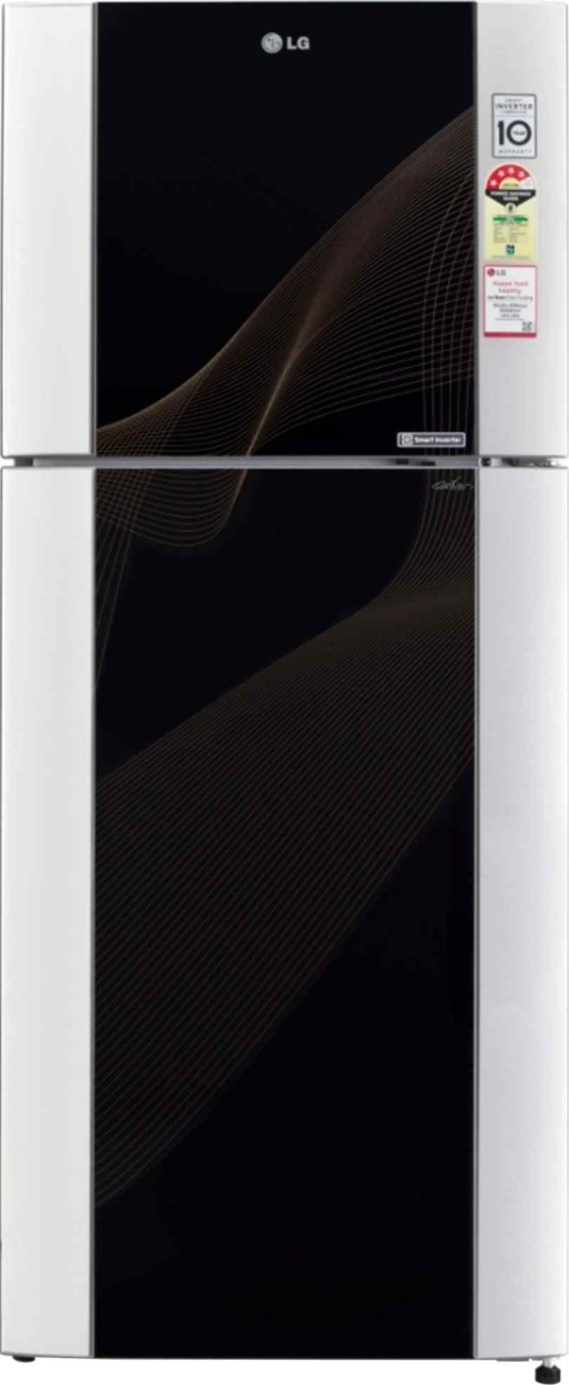 Best price on LG GL-I442TKRM Frost-free 4S 407 Litres Double Door Refrigerator in India