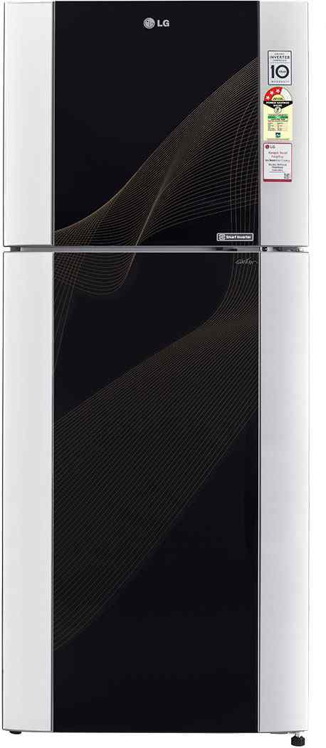 Best price on LG GL-M442TKRL 3S 407 Litres Double Door Refrigerator in India