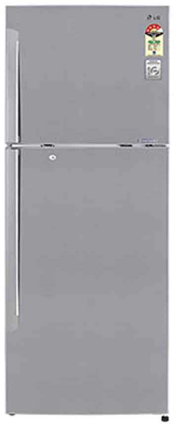 Best price on LG GL-M472QPZL 420 Litres Double Door Refrigerator  in India