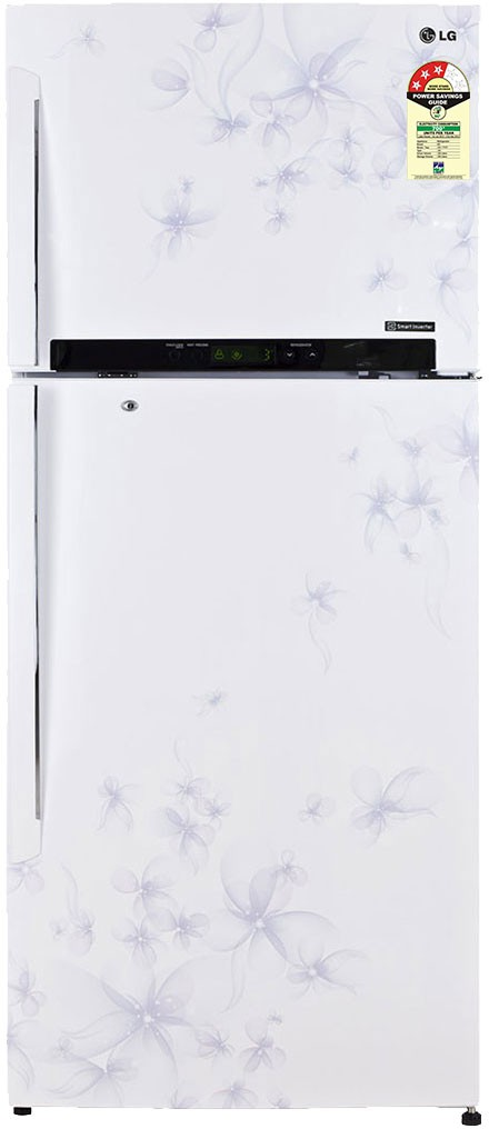Best price on LG GL-M522GDWL 470 Litres Double Door Refrigerator (Daffodil) in India