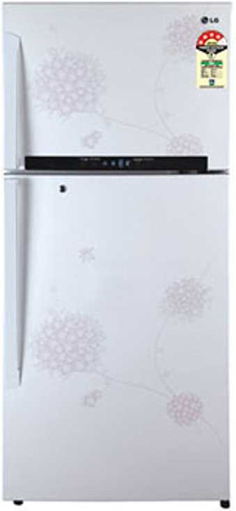 Best price on LG GL-M542GPHM 495 Ltr 4S Double Door Refrigerator (Bouquet White) in India
