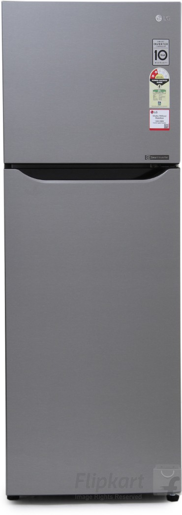 Best price on LG GL-Q282SGSR 255 Litre Double Door Refrigerator in India