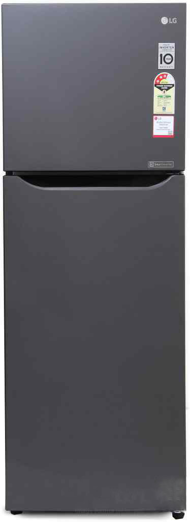 Best price on LG GL-Q282STNM 255 L Frost Free Double Door Refrigerator in India