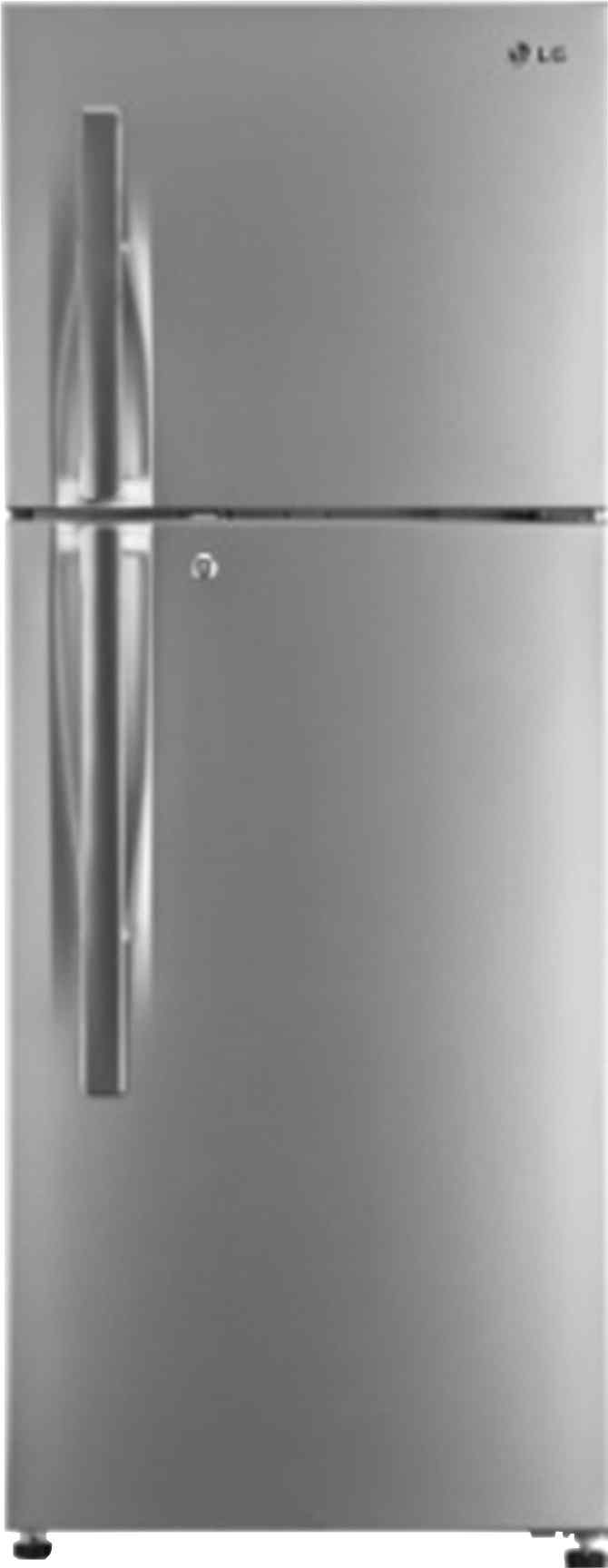 Best price on LG GL-T322RPZM 308 Litre Double Door Refrigerator in India