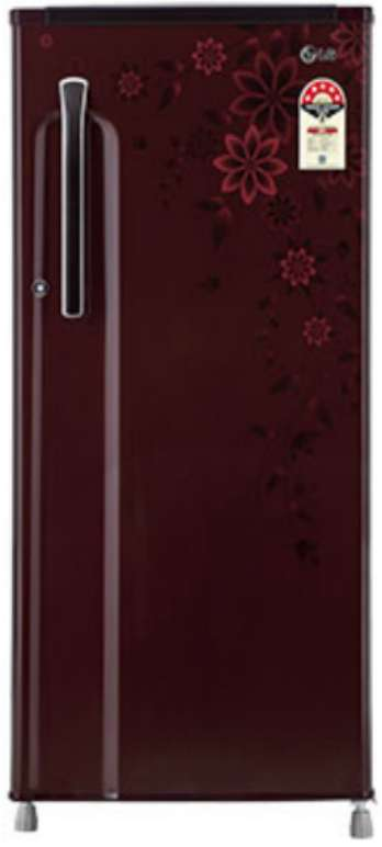 Best price on LG GL-205KAG5 RF Single Door 190 Litres Refrigerator  in India