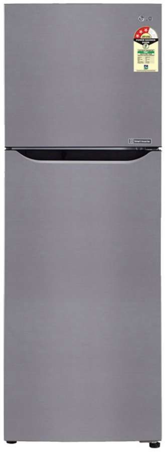 Best price on LG GL-A282SPZL 255 Litres Double Door Refrigerator  in India
