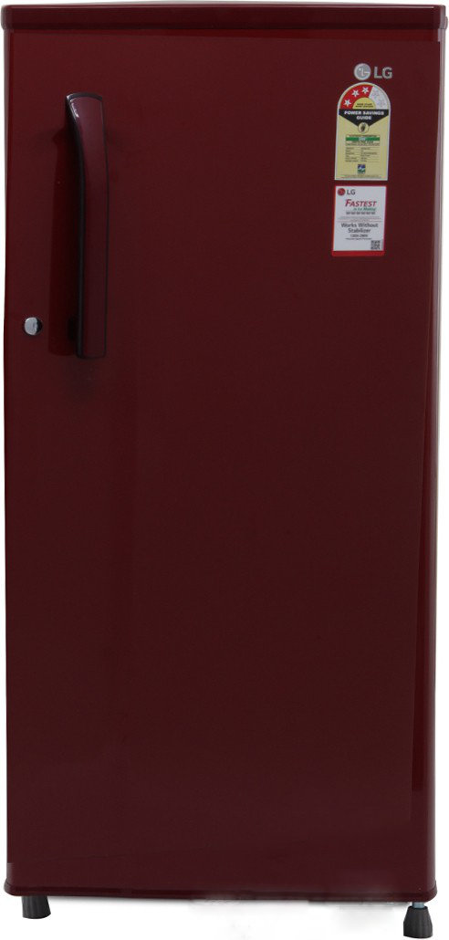 LG GL-B191KRLQ 3S 188 Litres Single Door Refrigerator