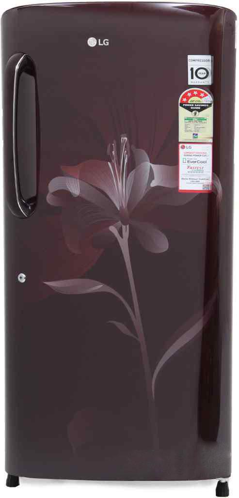 Best price on LG GL-B221ASLS/AGLS 4S 215 Litres Single Door Refrigerator in India