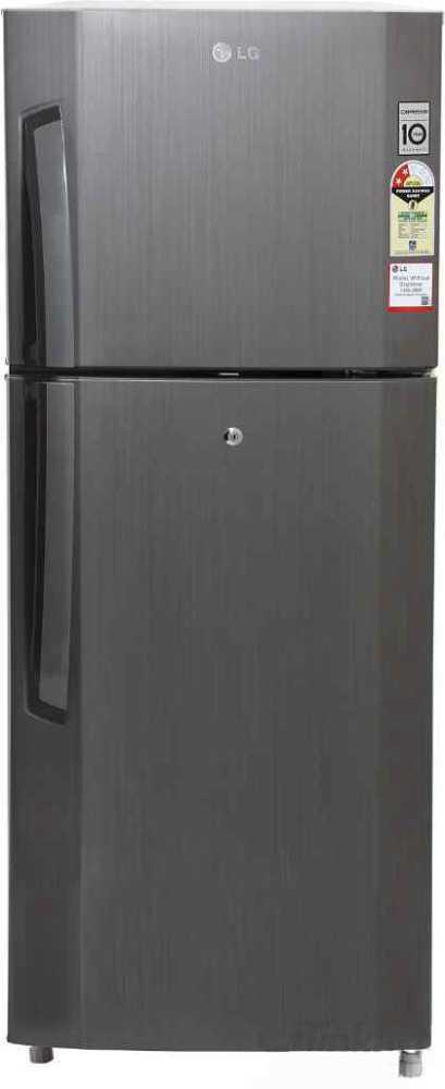 Best price on LG GL-B252VLGY 240 Litres 2S Double Door Refrigerator (Neo Inox) in India
