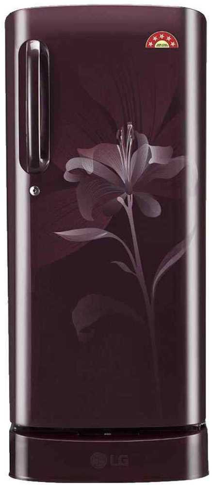 Best price on LG GL-D201ASLN 190 L 5S Single Door Refrigerator  in India