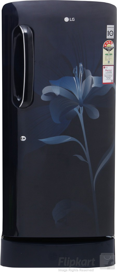 Best price on LG GL-D221AMLL 4S 215 litres Single Door Refrigerator in India